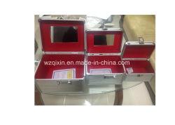 Estrutura de alumínio compõem Caixa, caso Cosméticos, Salão de caso com espelho e placa interna