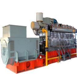 일생동안에 판매를 위해 놓인 고능률 1500kw Biogas 발전기를 서비스하십시오