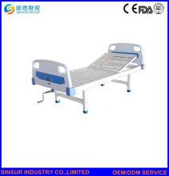 ABS van China het Medische Hand Enige Onstabiele Bed van de Verzorging van het Ziekenhuis van het Hoofdeinde/Footboard