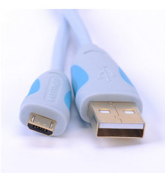 Super cabo Micro USB flexível Granel