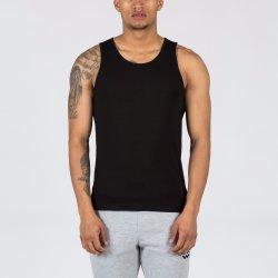 Het gerecycleerde Katoenen Unisex- Zachte Hemd van Mouwloos onderhemden met het Embleem van de Douane