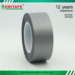 Sh319 kein Rückstand-Silber Belüftung-selbsthaftendes Kreppband für Metallholz-Plastikoberflächen-Schutz Somitape