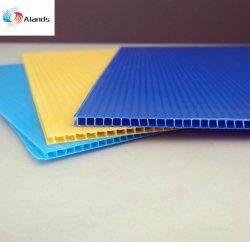 La fabricación de hoja corrugado de PP 4X8 Coroplast Signos