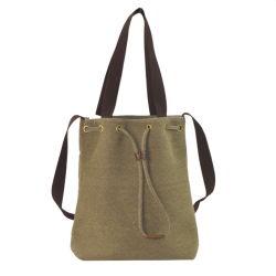 DamenDrawstring Convas Handtasche Zxk1029