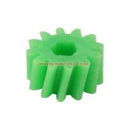 Grande OEM da engrenagem de plástico de poliuretano sólido / Mini-Engrenagem da Roda Dentada / Engrenagem do Carreto
