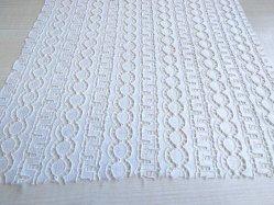 Vestido de encaje bordado cuerda Tela Tela de encaje para Diseño de Moda Vestido de Novia Accesorio de prendas de vestir