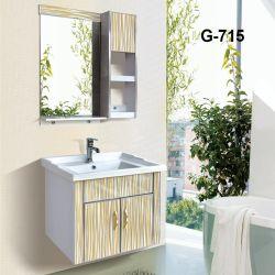 Красивый современный ПВХ Мебель для ванной комнате с ПЭТ-пленку