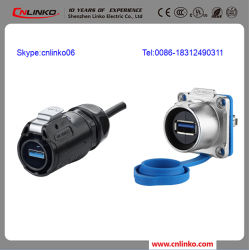 USB Cable Waterproof Connector/Male a Female Connector/USB Cable Connectors