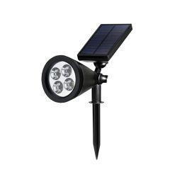 Einteilige Solar-LED Lampe des beweglichen Entwurfs-für Garten-Rasen-Yard