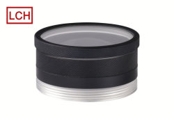 CNC-Bearbeitungsteil Good-Quality Custom Rändelkamera Aluminium Objektivanschluss
