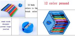 OEM het Geval van de Pen van de Kleur van de Pen van de Kinderen van het Ontwerp