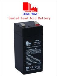 4V4ah Bateria de chumbo-ácido recarregável para escala de pesagem