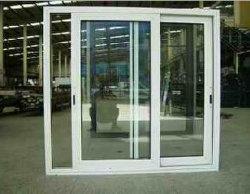 Simple vitrage fenêtre en aluminium blanc