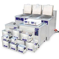 Maakt de Ultrasone Reinigingsmachine van de industrie met de Schuimspaan van de Olie voor de Delen van de Auto schoon