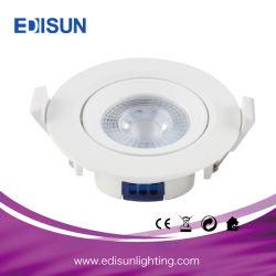 Раунда/ квадратных SMD ПОЧАТКОВ 5W 7Вт Светодиодные потолочные точечная лампа