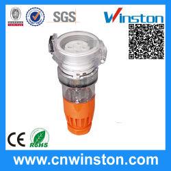 Waterdichte driefasen-3 ronde-pins uitbreidingsaansluiting met CE