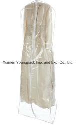 新しく明確なプラスチック花嫁のウェディングドレスカバー袋
