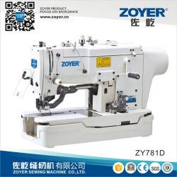 産業ミシン(ZY781D)に穴をあけるZoyer Jukiのディレクト・ドライブボタン
