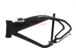 El bastidor de bicicleta de aleación de aluminio con tanque de combustible Builtin