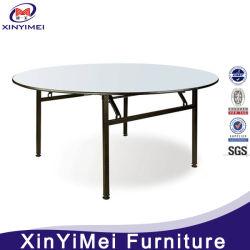 Preiswerter Großverkauf 6FT, die ringsum Furnierholz-Bankett-Tisch sich falten