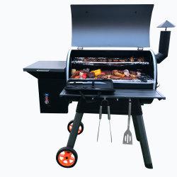 مراقبة عن بُعد مجموعة مغذي المثقاب على اللوحة الكهربائية Big Wood Pellet مطعم شواء تشارفحم مدخن شواء بارباكوا