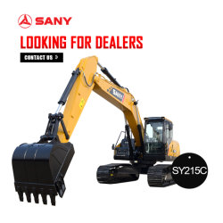 판매를 위한 Sany Sy215c 22ton 크롤러 RC 유압 굴착기