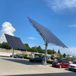 China-galvanisierte Solarverfolger-Neigung-Montierung Stahlsolarpole-einzelner Pfosten-Standplatz-Sonnenkollektor-Solarmontage