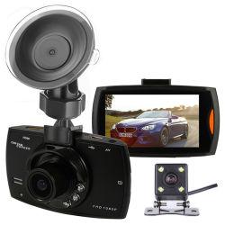 1080P 2,8 дюйма с двумя объективами G30 Dash Cam Car DVR