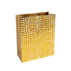 2020 новый дизайн упаковки подарков Горячая штамповка тиснения бумажных мешков для пыли