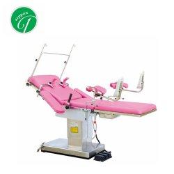 Chaise gynécologique et obstétricale Médical Gynécologique Table livraison/lit pour salle de la table d'exploitation de l'hôpital