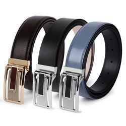 La marque de mode de gros Jeans hommes ceintures de hanches en cuir noir