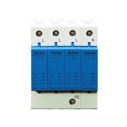 Fonte de Alimentação de raios solares fotovoltaicos T2 1000V 40ka SPD DC de baixa tensão Dispositivo de Proteção contra Sobretensão