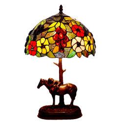 8pouce 12inch 16inch Handmade vitrail Tiffany Hôtel lampe de décoration