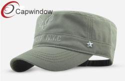 Militar de la moda la tapa con el logotipo bordado (18070902)