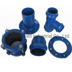 La norma ISO2531 En545 NE598 tubo de hierro dúctil racores para tubo de PVC Tubo di