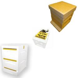 Multifunctionele het Koppelen van de Bijenkoningin van de Bijenkorf van het Schuim Doos