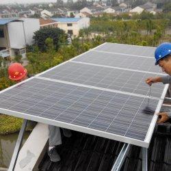 TUV & 세륨 증명서 Monocrystalline 태양 전지판을%s 가진 지능적인 작업장 직접 300W
