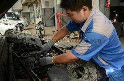Mikro-Schaumgummi Nitril-Beschichtung-Sicherheits-Handschuhe mit Nylon-/Spandex-Shell (N1554)
