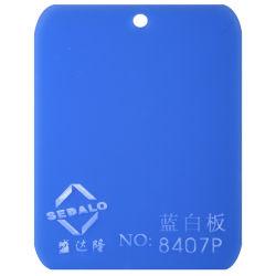 100% нового импортируемых материалов синий и белый лист литого акрилового волокна