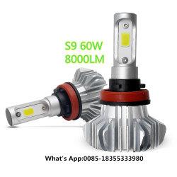 Indicatore luminoso LED H4, faro automatico H7 del motociclo incluso lampada della nebbia di alto potere di alto potere massimo minimo H15 Fanless LED del fascio