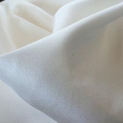 140 cm Natural grossista 100 Branco Puro tecido de seda Dupioni 16mm