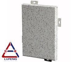 Mable Steinkorn-Aluminiumpanel für Zwischenwand