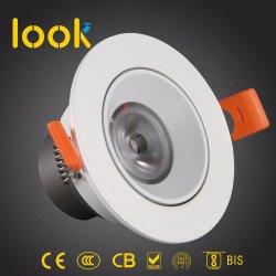 4W Ce Bis CB COB Salle de LED Lampe LED de lumière vers le bas de plafond