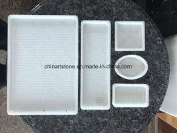Bandeja de sabão em mármore, Soucer, Placa, Prato para cozinha e casa de banho privada