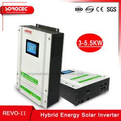 CPU indépendant 3000/3200/5500W hybride solaire avec batterie en option de convertisseur de puissance