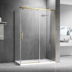 バスルームアクセサリーセットバスルームシャワールーム、スライドドアシャワー エンクロージャコーナーシャワーエンクロージャ