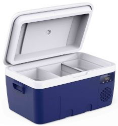 2021 Полный пластиковый корпус Good-Looking портативный 12V компрессор автомобильный морозильной камере