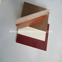 Finger Joint de melamina de 18mm y 16mm de espesor HDF contrachapado para el mercado de Nigeria