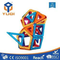 25PCS 建設用ビルディング・ブロック子供用磁気ブロック・セット