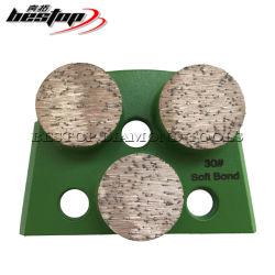 Лавина трапеции алмазные шлифовальные блок для конкретных плитками Тераццо каменным полом
